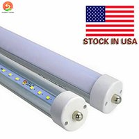 Wholesale rohs china - 8 foot LED Bulbs 8ft Tubes T8 2.4m 36W 45W 85-265V with G13 FA8 R17D Rotary from China Proffesional Manufacture