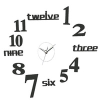 Wholesale reloj pare for sale - Reloj De Pared Real Wall Clocks Round Combination Diy Mirror Clock Home Fashion Clock Sitting Room Modern Acrylic