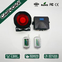 Wholesale Two Way car Alarm with Remote Engine Starter CX
