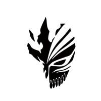 projetos do carro venda por atacado-Carro Stying Ichigo Oco Máscara Anime Etiqueta Do Carro Para O Caminhão Janela Bumper Auto Suv Porta Novo Design Vinyl Decal Jdm