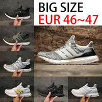 New Big Size Ultra boost 3.0 4.0 Triple Black Calçados de corrida para homens Oreo white ultraboost Mulheres Sport outdoor Sneakers Eur 36-47