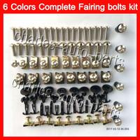 Wholesale Hayabusa Bodies - Fairing bolts full screw kit For SUZUKI GSXR1300 Hayabusa GSXR 1300 96 2002 2003 2004 2005 2006 2007 Body Nuts screws nut bolt kit 13Colors
