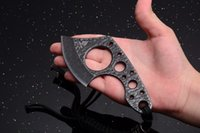 Mini Portable Survival ax outdoor Camping Survival Caça de caça EDC Multi Purpose tool Defesa Karambit ax Free