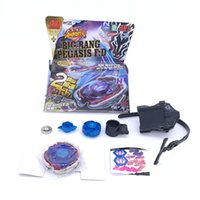 Beyblade Metal Fusion 4d Bb124 Bb105 L Драго Золото Спиннинг, быстрота Beyblades Spin Top Toy Set, Bey Blade Spinner With Launcher