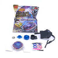 Wholesale Spinners Blades - Beyblade Metal Fusion 4d Bb124 Bb105 L Drago Gold Spinning ,Rapidity Beyblades Spin Top Toy Set ,Bey Blade Spinner With Launcher