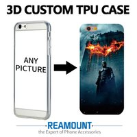 Wholesale Diy Colored Painting - 3D Relief Soft TPU DIY Painting Colored Case Cover for iphone 7 7plus Mobile Phone Case for Iphone 6 6plus Case Cover Pattern Phone Bag