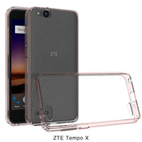 Wholesale Boost Mobile Lg Case - For ZTE Tempo X N9137 Boost Mobile cover ultra-thin invisible tpu+pC acrylic crystal shell sets protective sleeve Cell Phone
