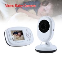 "Wholesale Sound Color Camera - Wholesale- Blueskysea SP820 2.4""LCD Screen CMOS Wireless Night Vision Video Baby Monitor Camera Two Way Audio Sound Lullaby Temperature"
