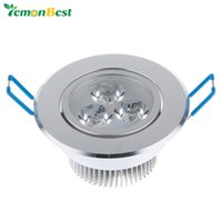 Wholesale Living Room Led Light Illumination - Wholesale- 3W Ceiling Downlight LED Lamp Recessed Cabinet Wall Light widely voltage 85V-245V for Home living room illumination