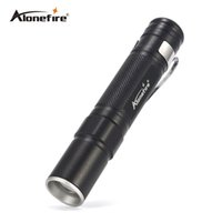 AloneFire MN22 Portable Mini Penlight CREE LED Flashlight Torch Pocket Light Lanterne étanche AAA Batterie Powerful Led