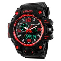 SKMEI Brand Men's Sports Analog Digital Watch Multi Function Military S-shock Relógios LED Waterproof WHSKWT076