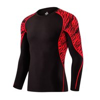 New Men s 2017 Long Sleeved T-shirts Quickly-Dry Breathable Sportswear  Jerseys Running Tights Camouflage Clothes Soccer Basketball Shirts ... d146679646c