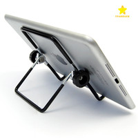 Wholesale universal ipad mount - Metal Tablet PC Stand Mount Holder Foldable Multi-angle Non-slip For iPad 1 2 3 4 5 air1 2 Mini with Packagel