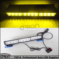 2016 Super Bright 24 LED 72W Amber Strobe Blinklicht 1 PC 1W Lange Bar Lichter Emergency Beacon Warnung Polizist Feuerwehrmann Lampe