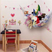ingrosso rete di amaca-New Net Hammock Net Farcito Peluche Organizer Storage Bags Giocattoli per bambini Hanging Net Toys Hammock