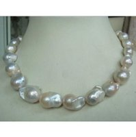 "Wholesale Huge Nuclear Pearls - HUGE 18""18-25MM AUSTRALIAN SOUTH SEA NATURAL WHITE NUCLEAR PEARL NECKLACE"