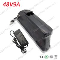 Wholesale Electric Scooter Charger 48v - High Power 750W Lithium Scooter battery for Ebike 48V 9AH Electric Bike battery with 20A BMS 54.6V 2A charger US EU Free Duty