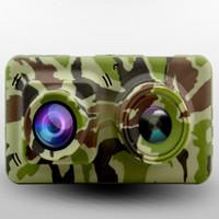 ltps lcd оптовых-1080 P с двойной линзой Камуфляж Инфракрасная камера ночного видения с 4.5