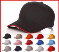 ingrosso berretto da baseball pubblicità-Cappellino da uomo in cotone a tinta unita per berretti da baseball con logo personalizzato per l'inverno Cappellino da baseball in cotone materiale 6 5hx