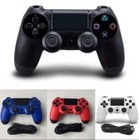 Wholesale New Shock Joystick - 2017 New USB Wired Game Controller For Sony PS4 Controller Shock 4 Joystick Gamepads For PlayStation 4 Console