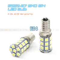 Wholesale 5050 SMD E14 LED Lights V Input Non polarity Super High Brightness Bulbs
