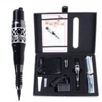 Wholesale permanent beauty machine resale online - USA Biotouch Mosaic Tattoo Kits Permanent Makeup Rotary Machine Pen Beauty Equipment For Eyebrow Eyeliner Lips Cosmetics Make up