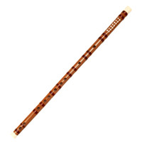 G ox chinese - Chinese Flute Key CDEFG Handmade Bamboo Chinese Dizi With Ox Horn in Both Sides