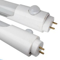 sensor led tubo t8 al por mayor-Envío gratis nueva llegada 1200MM PIR Sensor de movimiento 18W LED Tube WW, NW, CW Temperatura de color (CCT) AC85-265V G13 Base T8 LED TUbe