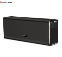 Wholesale New Drivers Speakers - Wholesale- Junjiada 20W Portable Wireless Bluetooth Speaker with Microphone Enhanced Bass Handsfree Phone Built-in Mic Dual 10W Drivers New