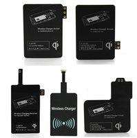 2017 Qi Charger receptor inalámbrico de carga inalámbrica para Samsung Galaxy S3 S4 S5 NOTA2 NOTE3 NOTE4 tipo-c iphone 5 6 iphone 7 plus