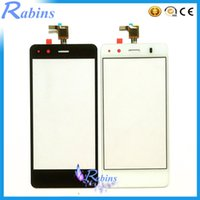 Wholesale mobile phone screen glass lens - Wholesale- 4.5 inch Mobile Phone Lens Touchscreen Digitizer Front Glass For BQ Aquaris M4.5 Touch Screen Touch Panel For BQ Aquaris M4.5