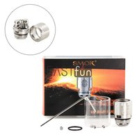 Wholesale E Cig Atomizer Replacement - 100% Authentic Smok TFV8 Baby Coil 0.3ohm Smoktech V8 Baby RBA Coils Suit SMOK E Cig Vaporizer TFV8 Baby Atomizer TFV8 RBA Coil Replacements