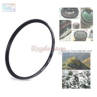 Wholesale 67 Mm Uv - Wholesale- Kase 52 55 58 62 67 72 77 82 mm Slim 18 Layers Multi Coating SWR MC-UV II MC UV Filter for Camera Lens Lenses 58mm 77mm 52mm