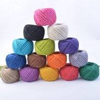 Wholesale Rope Dress Sale - Colour Rope Manual DIY Arts And Crafts Photo Decorate Tool Gift Packing String Wedding Dress Up Ropes Hot Sale 2 5bd J R