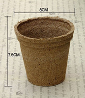 Wholesale Large Garden Pots Wholesale - garden supplies 20 PCS Garden Supplies Fiber biodegradable Plants seedling raising pot vegetable Nursery tray pot cup