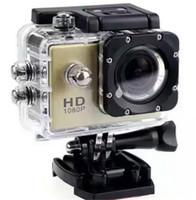 ingrosso schermata lcd della fotocamera del casco-Copia più economica per SJ4000 A9 stile 2 pollici LCD mini fotocamera 1080P Full HD Action Camera 30M impermeabile Camcorder casco DV Sport