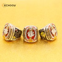 Wholesale Heart Paved - 2016 2017 newest Clemson Tigers official football championship ring drop shipping zinc alloy sports jewelry