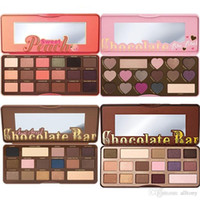 Wholesale Neutral Eyes - Too faced makeup Chocolate Natural Love Eye Shadow Collection Palette Ultimate Neutral 16 Color Eye Shadow Palette DHL free shipping