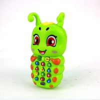 Wholesale Musical Telephone - Spirit sugar treasure toys Smart touch music toy mobile telephone 1 to 3 years old Toy Musical Instrument