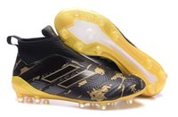 Wholesale limited soccer cleats - ACE 17+ Purecontrol FG Dragon UCL Limited Edition football boots,Pogba Schwarz,Pogba Soccer Shoes,mens Soccer Cleats,Messi Training Sneakers