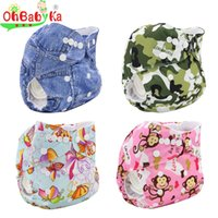 Wholesale Cloth Diapers Wholesale For Newborns - 2016 Newborn Baby Cloth Diaper Cotton Wasbare Luier Brand Fraldas Cloth Diaper Cover Pannolini Lavabili Pocket For Little Babies