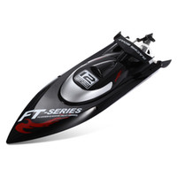 Wholesale boat brushless motor - Original Feilun Brushless Motor 4CH RC Boat Water Cooling High Speed Racing RC Boat 45KM H RTF 2.4GHz Racing Boat