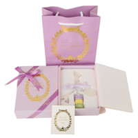 Wholesale Macaron Tower - Fashion Shiny Silver Keyring France LADUREE Macaron Effiel Tower Metal Keychain bag charm accessories w gift box and handbag