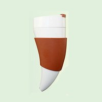 Wholesale Plastic Sports Horn - Horn Cup.Leisure Cup.Carry-on Cup.PP Material, Outdoor Sports, Chest Hanging Kettle. Holding Time is Long.