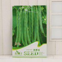 Wholesale seeds packing resale online - Organic Vegetables Seeds Green Bean Phaseolus Vulgaris Seed Original Pack Seeds Bag