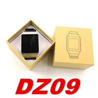 Wholesale 1PCS DZ09 Smart Watch Phone Single SIM Bluetooth Smart Watch DZ09 Smart Wrist Watches For Samsung Galaxy Iphone Huawei Sony LG