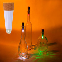 Wholesale Rechargeable Cap Lamps - Magic Cork Shaped Rechargeable Wine Bottle USB Night light cork stopper cap lamp creative romantic cork lights atmosphere lights