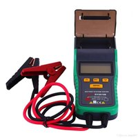 Tester batteria auto con stampante DY2015B Tester ElectricCapacity Tester batteria scarica Tester batteria 12V60A gamma 30AH - 200AH