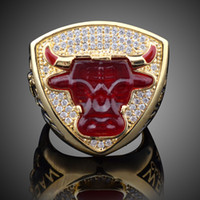 Wholesale Bull Jewelry - 1993 Bull Rings For Mens Top Quality Fashion Basketball Sports Jewelry Chicago Ring 2017 Hot Sale