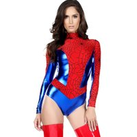 Wholesale Sexy Super Man Cosplay - Super Female Hero Costumes Women Sexy Costume Sensible Seductress Products Girl Halloween Cosplay Outfit Fancy Teddy Uniform